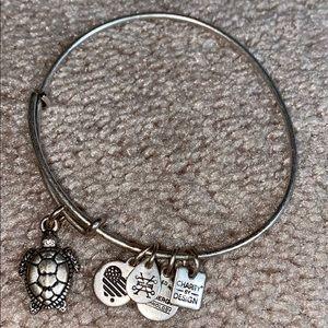 Alex & Ani Sea Turtle Bracelet